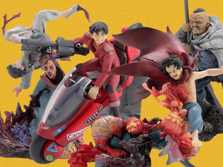 Akira miniQ Part 4 Akira Box of 6 Figures
