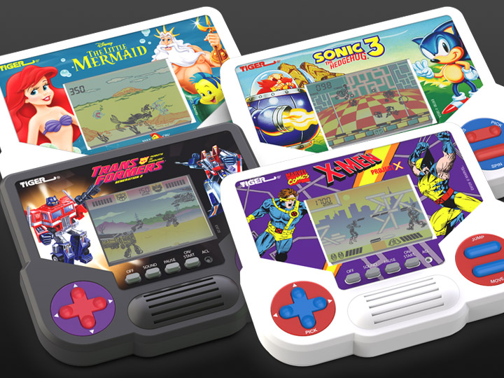 Tiger Electronics Hand Held Video Games