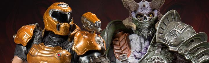 Doom Eternal Maruader & Doom Slayer (Phobos)
