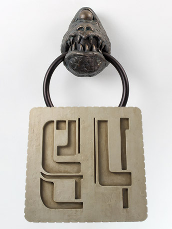 Star Wars Docking Bay Plaque, Jabba Gargoyle Towel Ring