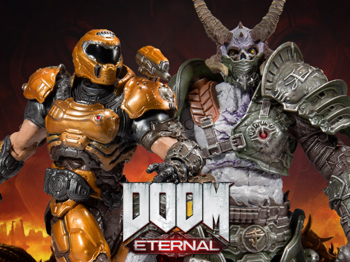 Doom Eternal Maruader & Doom Slayer (Phobos)
