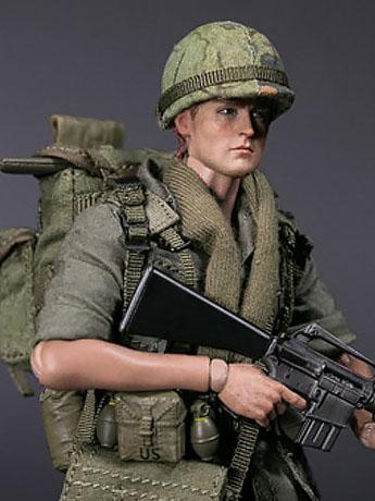 Army Pocket Elite Private 1/12 Scale Figure