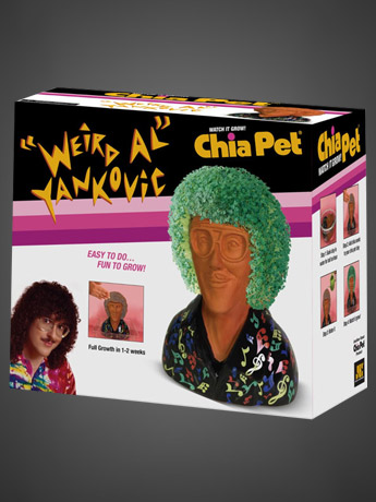 Chia Pets: Weird Al Yankovic & More!