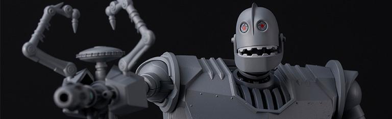 In Stock: The Iron Giant Riobot Iron Giant (Battle Mode)