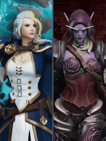 D-Stage: World of Warcraft Jaina & Sylvanas