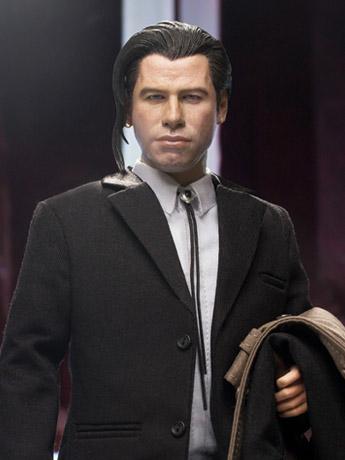 Pulp Fiction Vincent Vega (Pony Tail Ver.) 1/6 Scale Figure