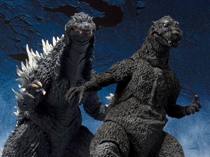 S.H.MonsterArts Godzilla 1954 & Godzilla Against Mechagodzilla