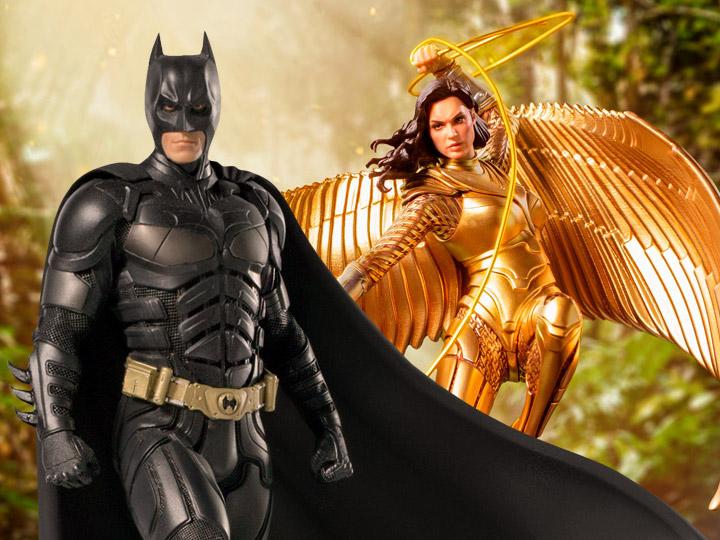 Iron Studios: The Dark Knight Batman & Wonder Woman 1984 LE Statues