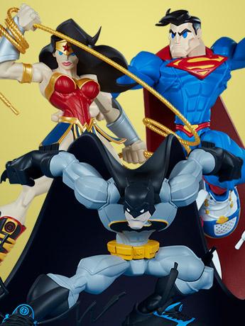 DC Comics Super Heroes in Sneakers