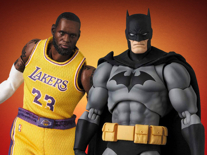 MAFEX: Batman: HUSH & LeBron James