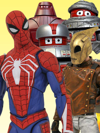Select Series: Spider-Man, Rocketeer, Disney Classics