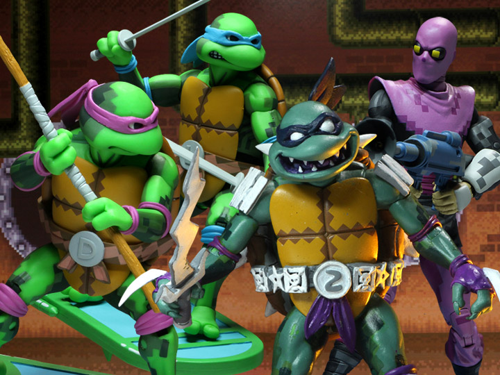In Stock: TMNT: Turtles in Time Wave 1