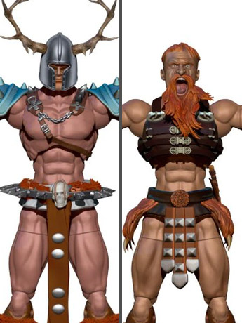 Vikings Vs Barbarians