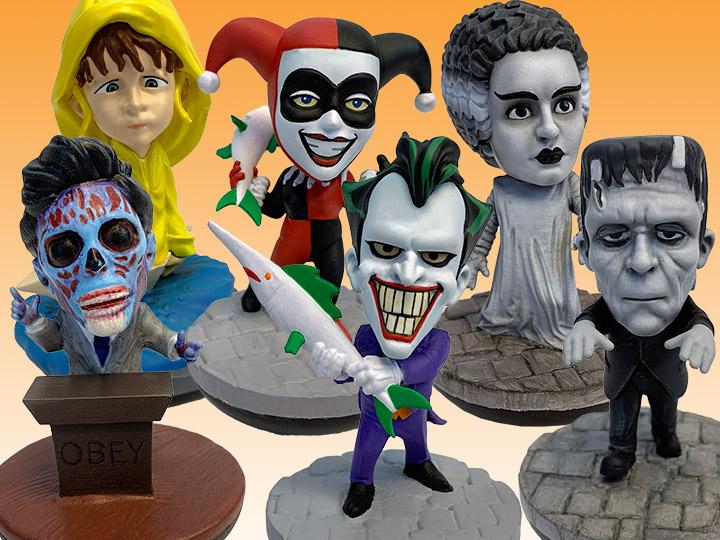 REVOs: Universal Monsters, DC, Horror