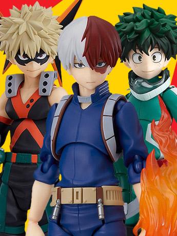 My Hero Academia figma Shoto Todoroki & More