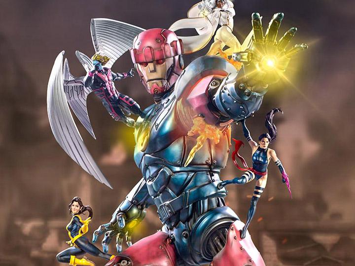 X-Men Battle Diorama Series Sentinel Statue
