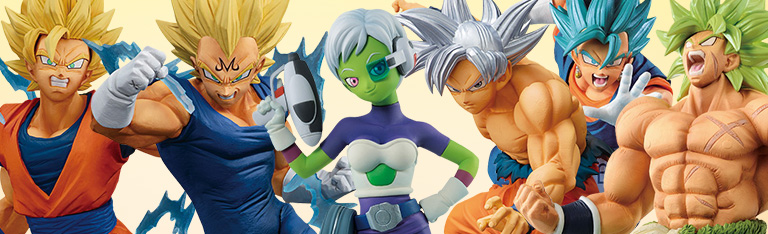 In Stock: Banpresto Dragon Ball Figures