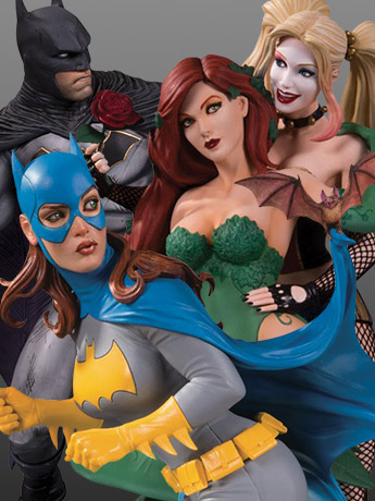 In Stock: DC Collectibles Statues & Figures