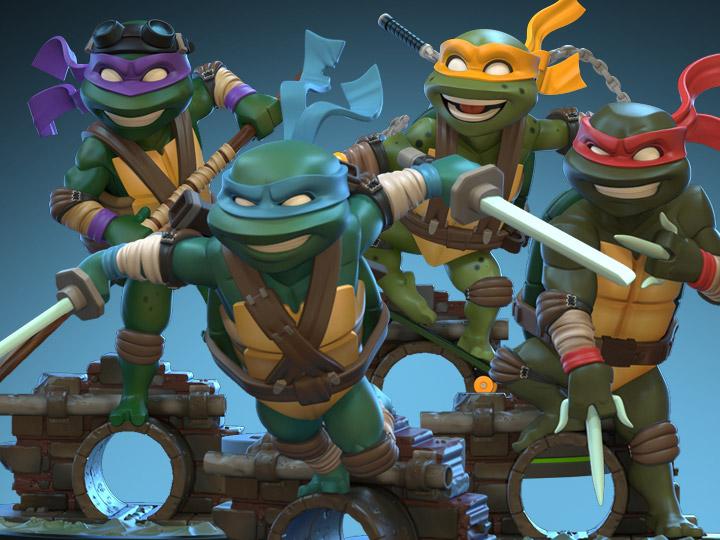 Teenage Mutant Ninja Turtles Q-Figs