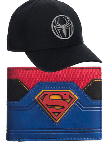 Marvel & DC Hats, Wallets & More