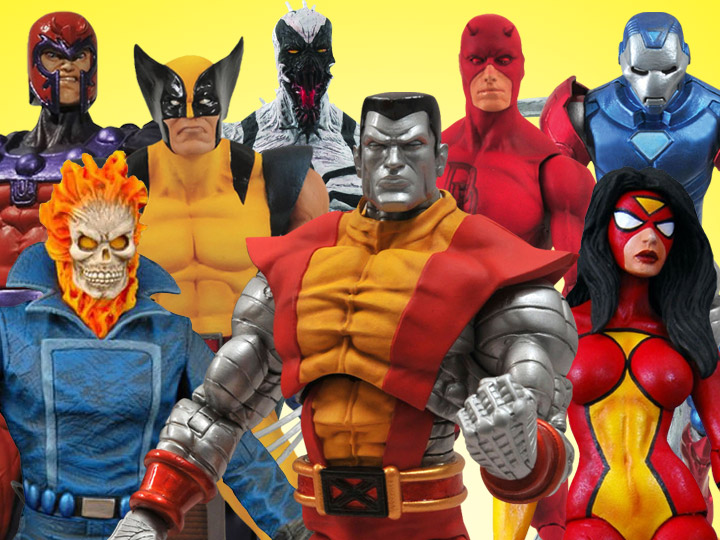 Marvel Select Colossus & More!