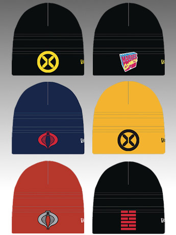 G.I. Joe & Marvel PX Previews Beanies