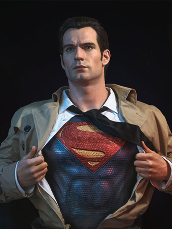 Justice League Superman LE Bust