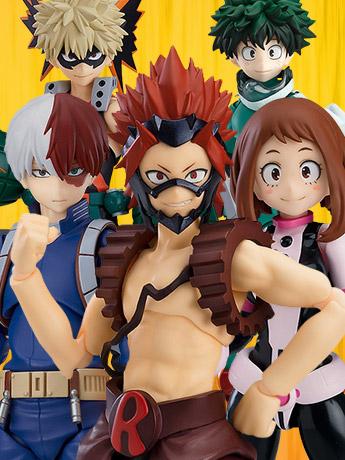 My Hero Academia figma Eijiro Kirishima & More