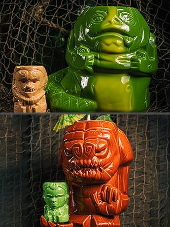 Star Wars Geeki Tikis Sets: Jabba the Hutt & Bib Fortuna, Rancor & Oola