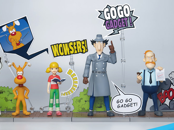 Blitzway Inspector Gadget MEGAHERO 1/12 Scale Figures