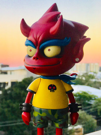 Urban Devil LE Action Figure