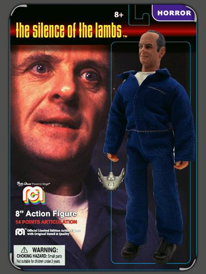 Mego Silence of the Lambs Hannibal Lecter