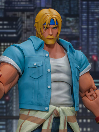 Streets of Rage IV Axel Stone 1/12 Scale Figure