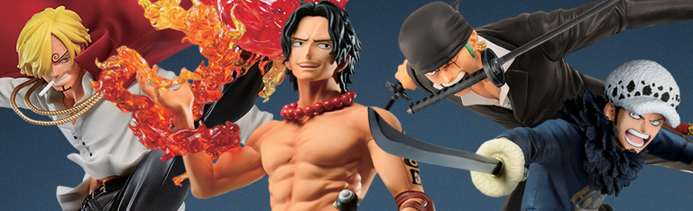 One Piece Treasure Cruise Ichibansho Figures