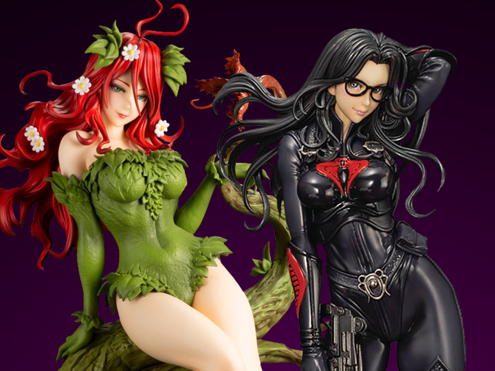 In Stock: Bishoujo: Baroness & Poison Ivy