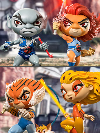 ThunderCats Mini Co. Figures
