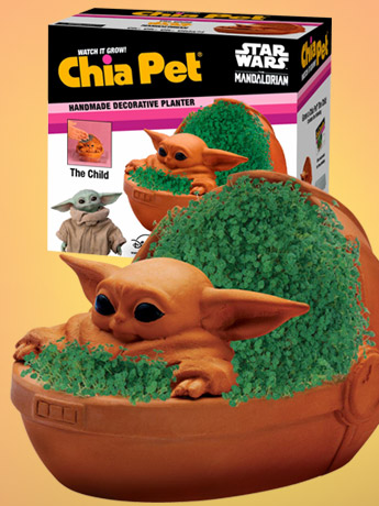 The Mandalorian The Child Chia Pet