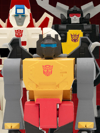 In Stock: Transformers ReAction Figures