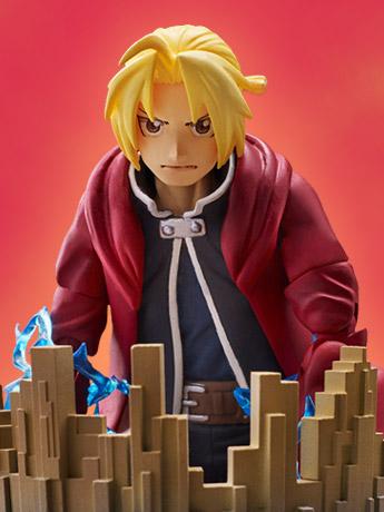 Fullmetal Alchemist: Brotherhood BUZZmod. Edward Elric 1/12 Scale Figure