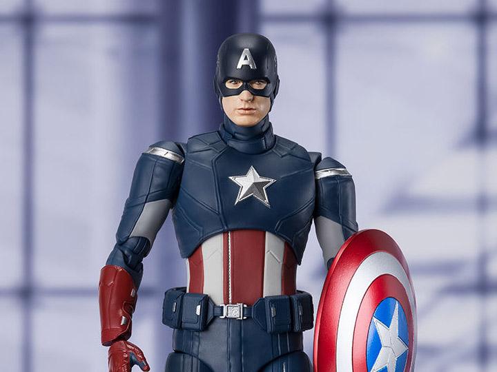 Endgame S.H.Figuarts Captain America (Cap Vs. Cap)