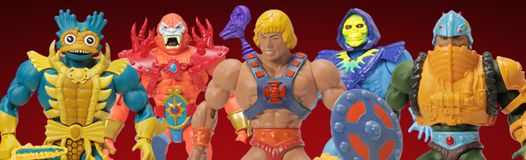 Masters of the Universe Power-Con Exclusives: Lords of Power Five-Pack & She-Ra