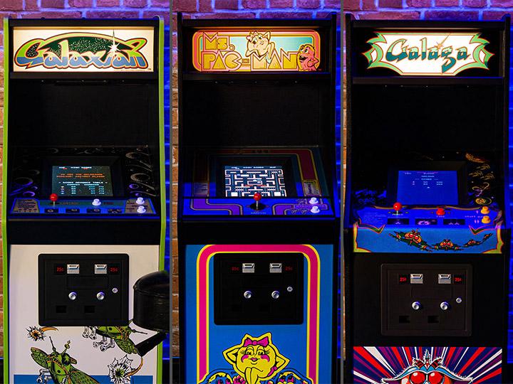 1/4 Scale Arcade Cabinets