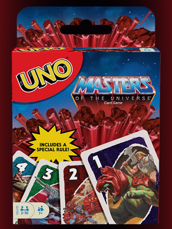 UNO: MOTU, Disney, Mario, Jurassic World & More