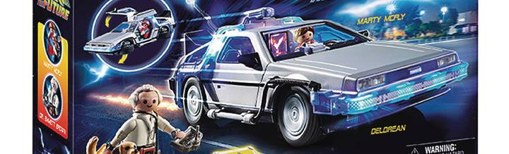 Back to the Future Playmobil DeLorean Time Machine Set