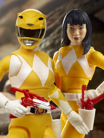 Mighty Morphin Power Rangers Lightning Collection Yellow Ranger