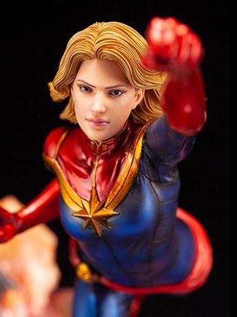 Kotobukiya: ArtFX Premier Captain Marvel