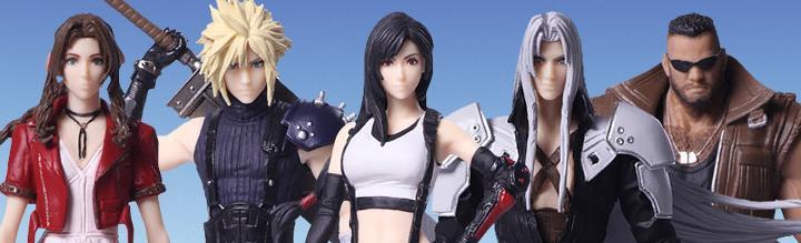 In Stock: Final Fantasy VII Remake Trading Arts