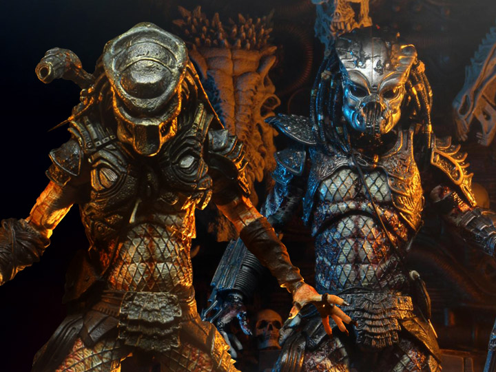 NECA Predator 2 Ultimate Guardian & Stalker Predators