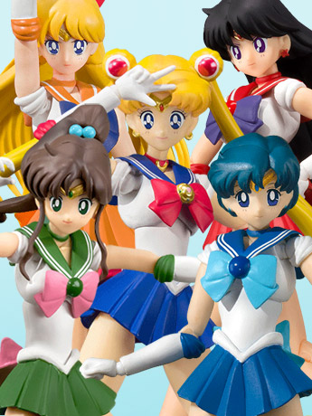 Sailor Moon S.H.Figuarts Animation Color Edition