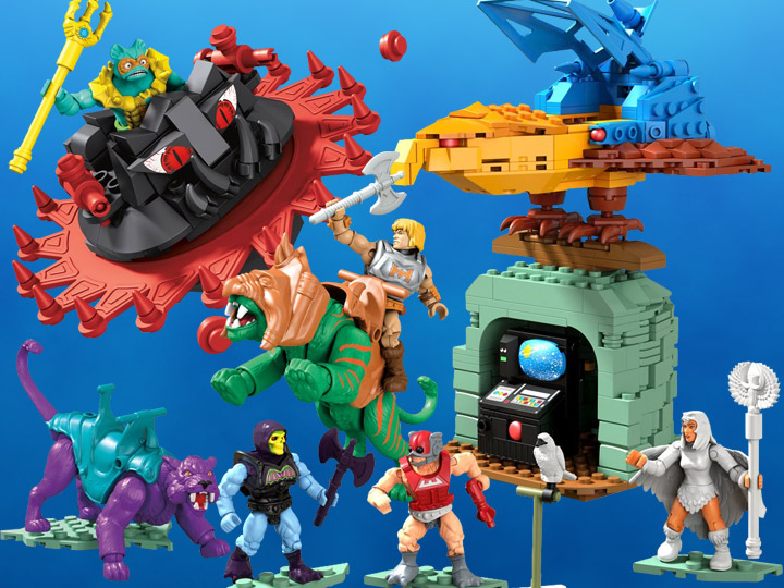Masters of the Universe Mega Construx